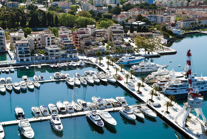 Porto Montenegro Marina Main