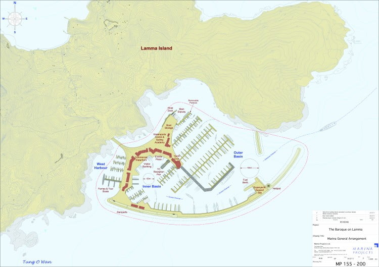Baroque on Lamma Masterplan