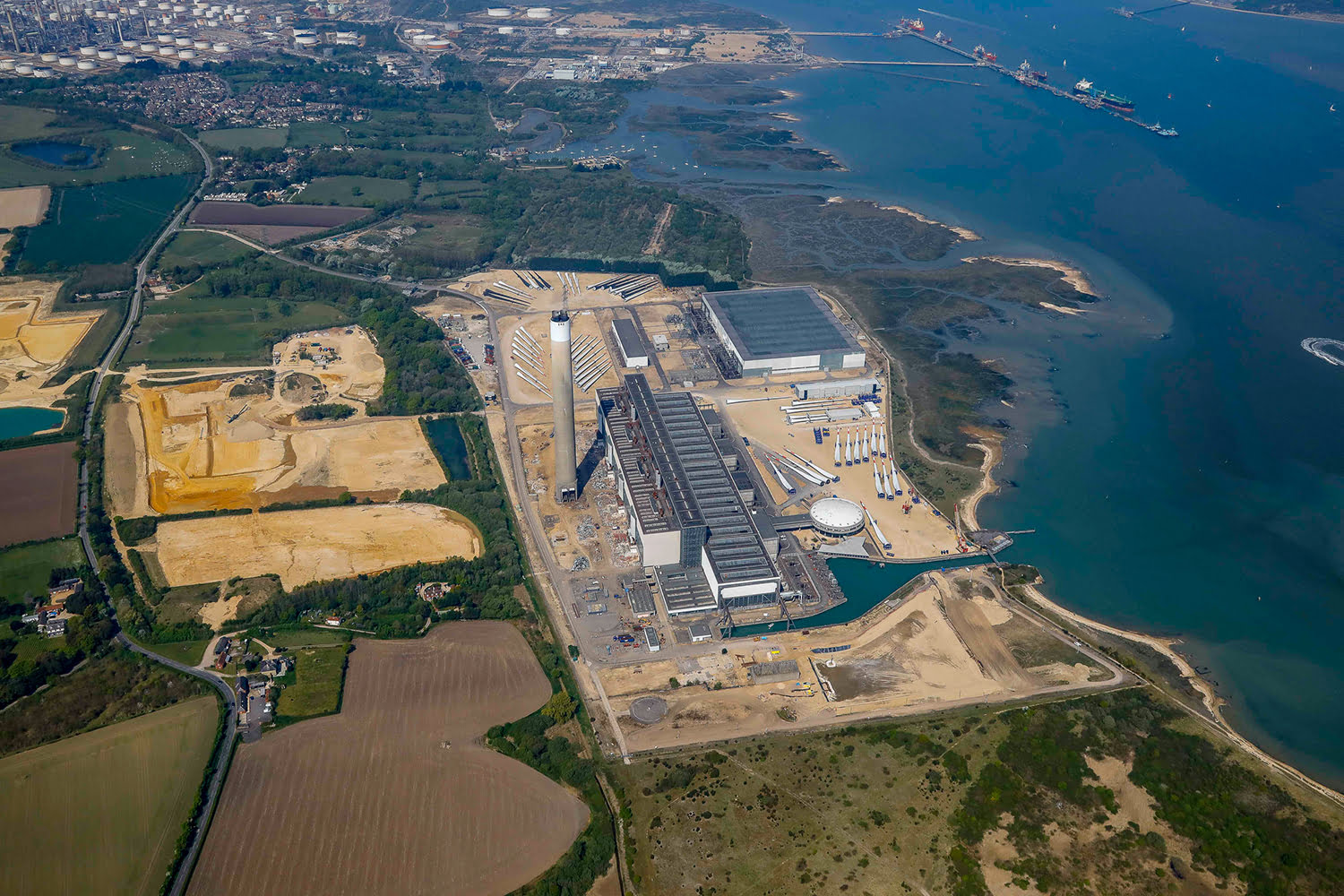 Fawley site photo