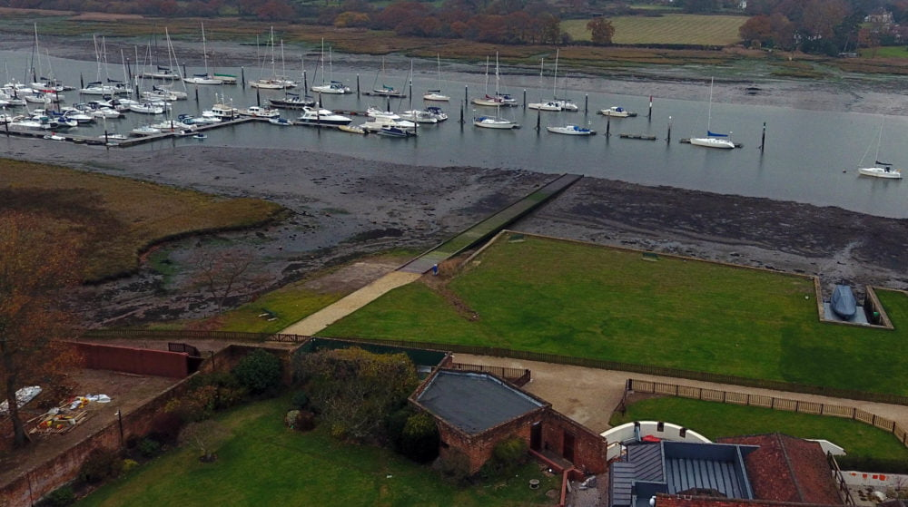 Brooklands Quay Slipway