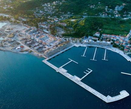 Portonovi marina development completion