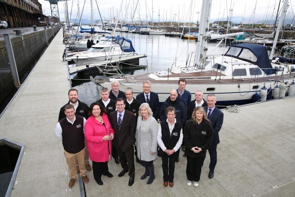 New Greenock James Watt Dock Marina operators Marina Projects