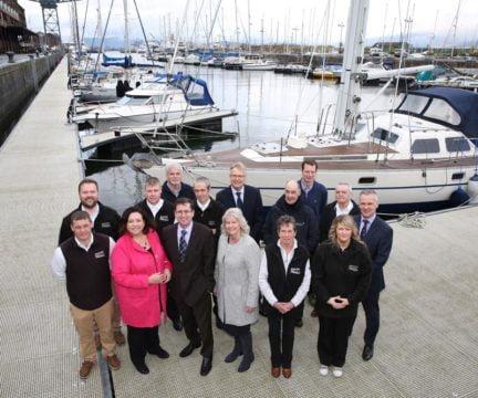 James Watt Dock Marina handover