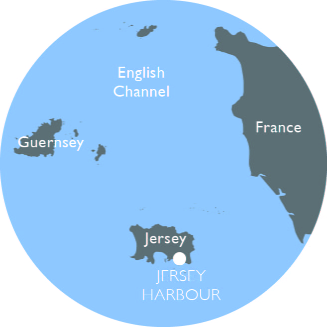 Jersey Harbour mini map