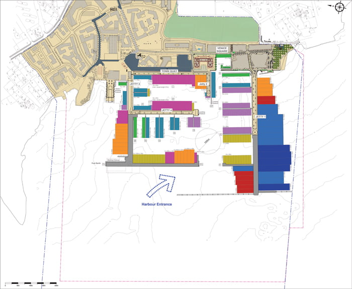 Porto Montenegro Marina Design Layout