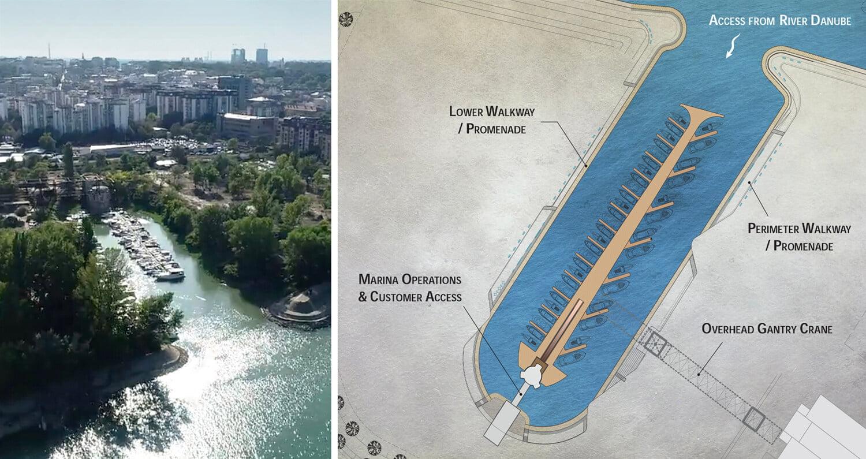 Marina-Dorcol-Belgrade-Plan