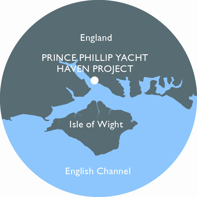 Prince Philip Yacht Haven, Hamble, UK marina project