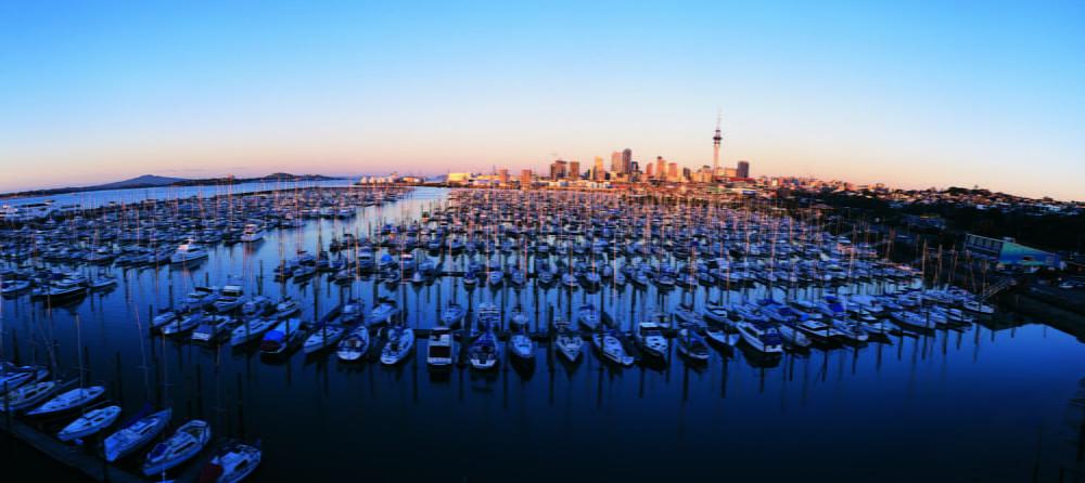 Westhaven Marina, Auckland, New Zealand marina