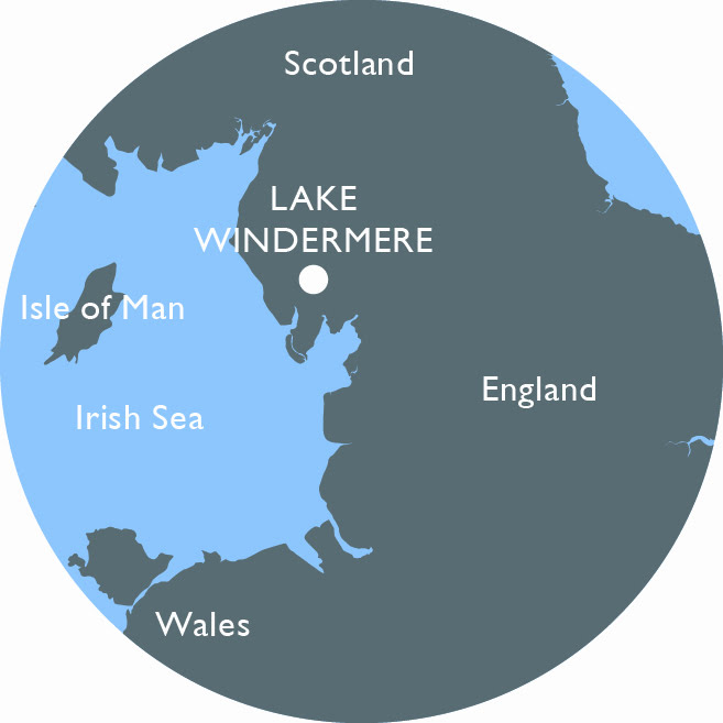 Windermere Quays mini map
