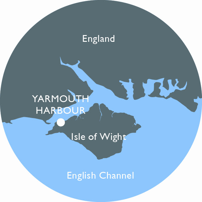 Yarmouth Harbour mini-map