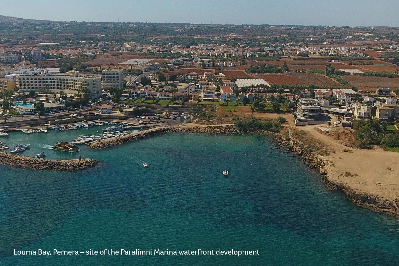 Louma Bay Paralimni Marina site