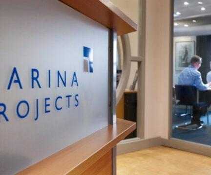 Reception at Marina Projects