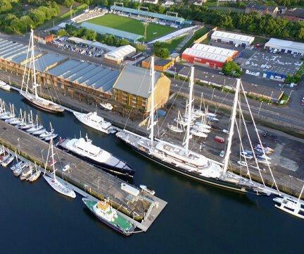 James Watt Dock in Marina World