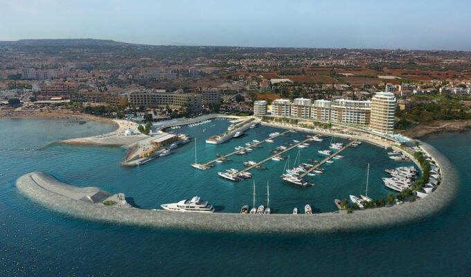 Paralimni Marina Project Aerial