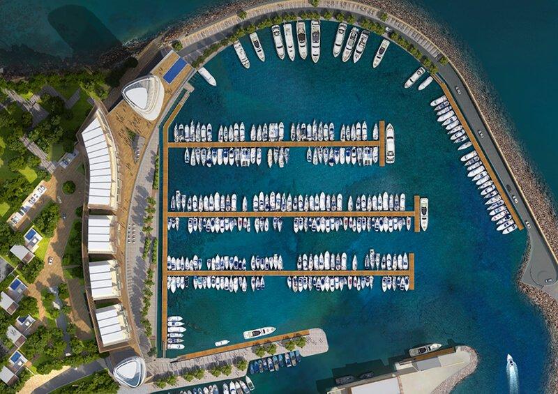 Masterplanning for waterfront development