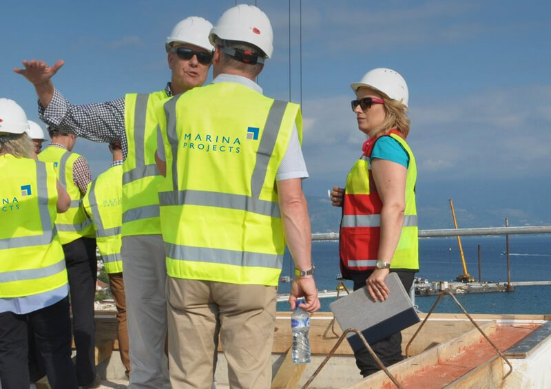 Tender and Project Management marina development