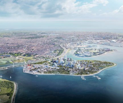 Tipner West marina development